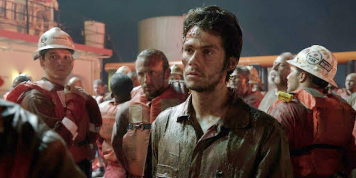 Dylan O'Brien in Deepwater Horizon.