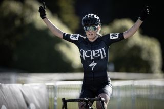 Kate McIlroy wins a second national title at the New Zealand Cyclo-cross National Championships on Sunday August 15, 2021