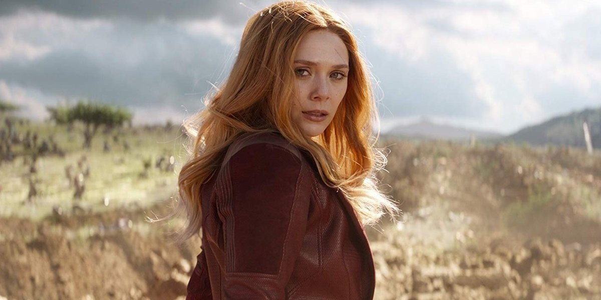 Elizabeth Olsen as Wanda Maximoff/Scarlet Witch in Avengers: Infinity War (2018)