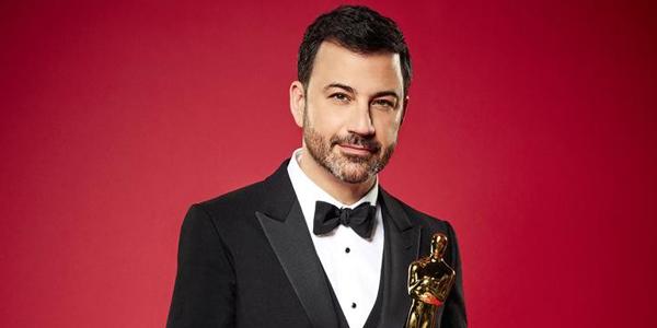 Jimmy Kimmel at the 2017 Oscars