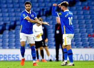 Brighton and Hove Albion v Portsmouth – Carabao Cup – Second Round – AMEX Stadium
