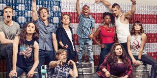 The Cast of Shameless On Poster