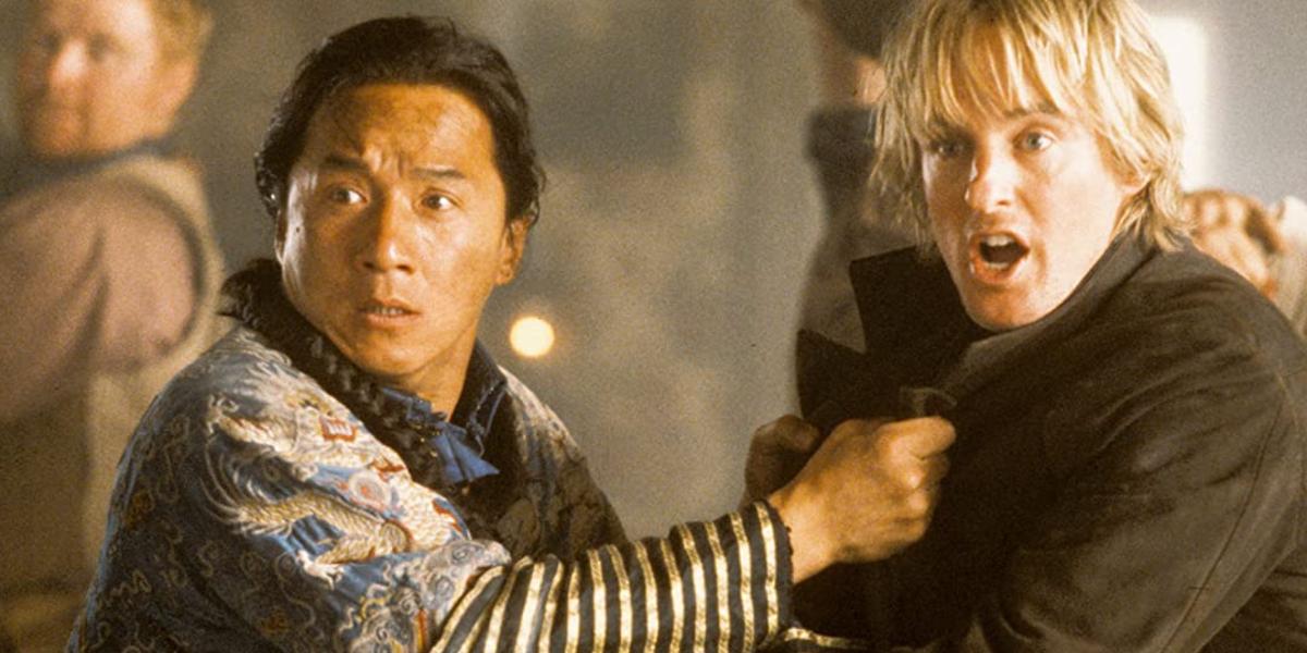 Jackie Chan and Owen Wilson in Shanghai Noon