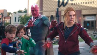 WandaVision finale: Wanda, Vision and the twins prepare to fight