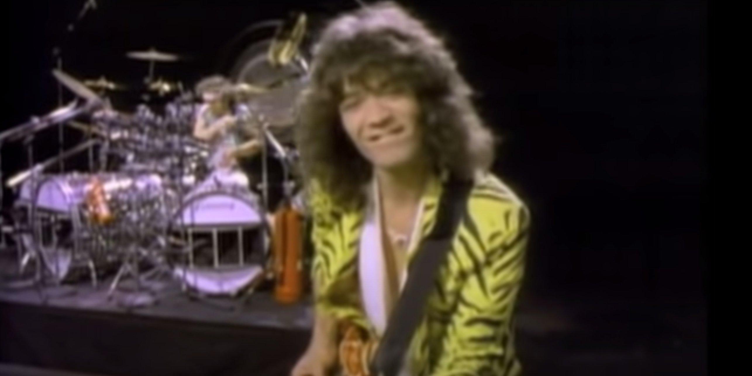 Eddie Van Halen Jump music video