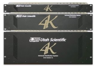 Utah Scientific Adds New Range of 4K Routing Switchers