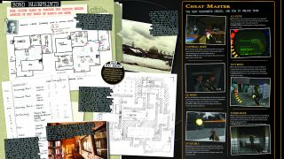 Original maps and sketches of Goldeneye on the N64 from Retro Gamer magazine