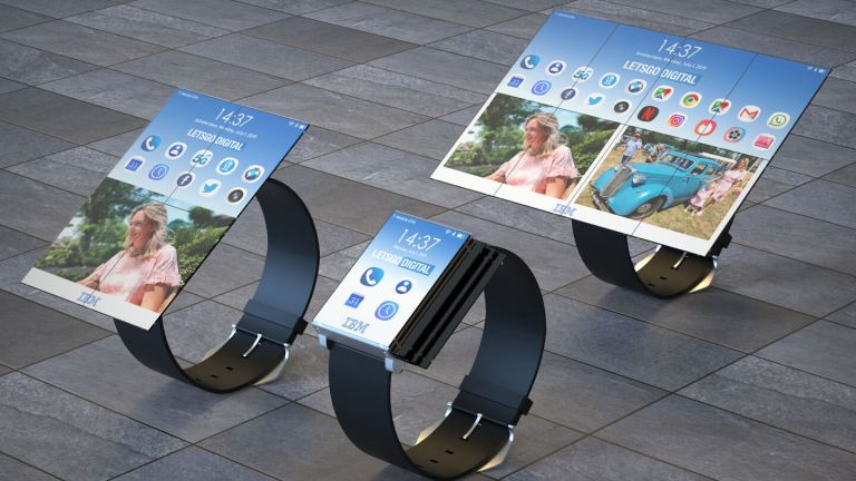 IBM Smartwatch vs Galaxy Fold vs Huawei Mate X