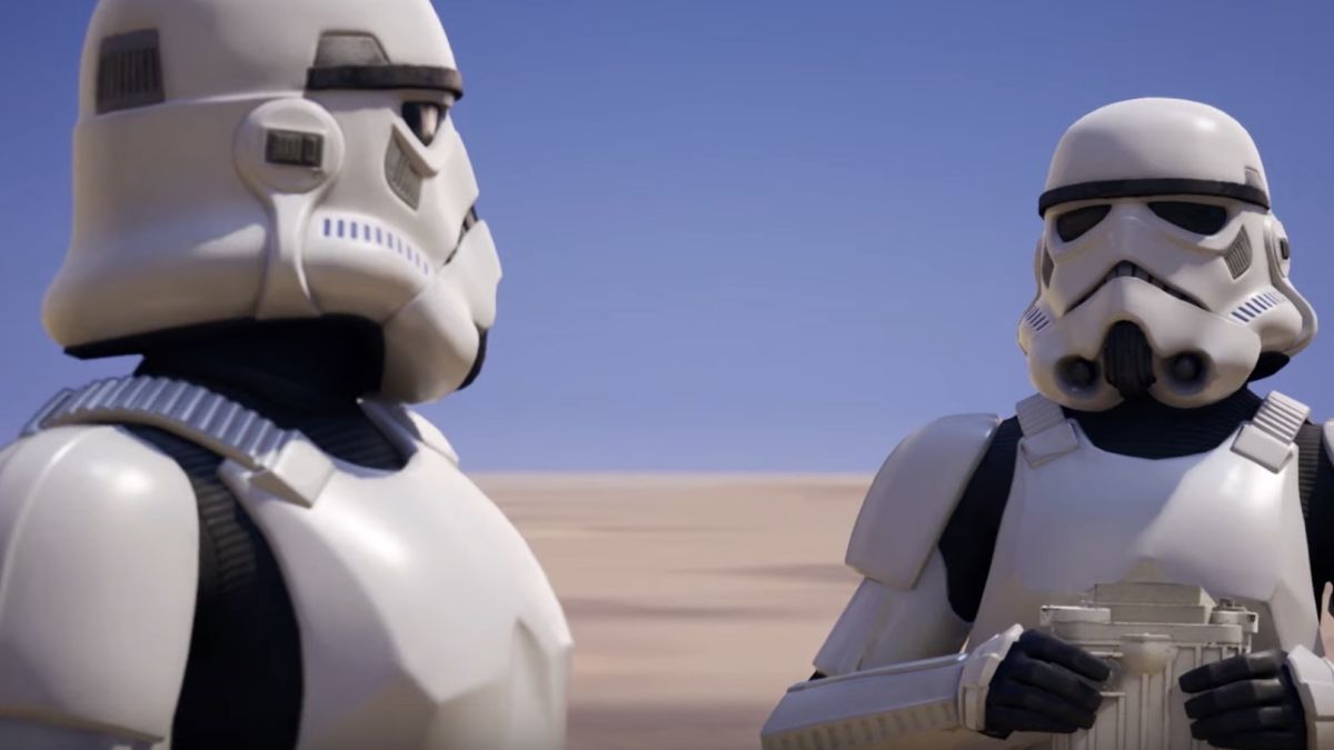 Star Wars crossover sees Stormtrooper skin added to Fortnite
