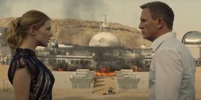 James Bond Celebrates Throwback Thursday With Giant, Award-Winning Explosion From The Daniel Craig Era