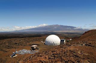 HI-SEAS Habitat on Mauna Loa