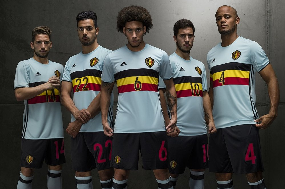 919f34b80 Belgium s away kit for Euro 2016 is a nod to the country s cycling heritage
