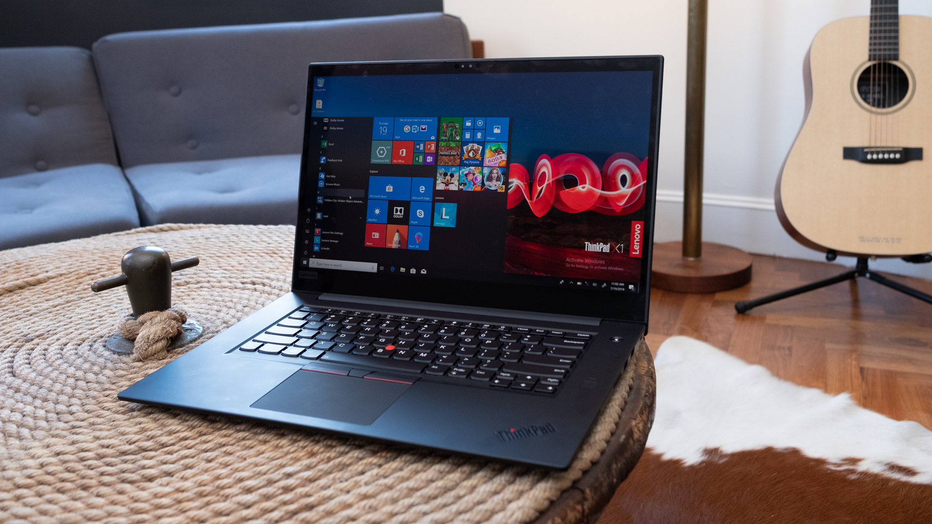 Best 15-inch laptop: Lenovo ThinkPad X1 Extreme