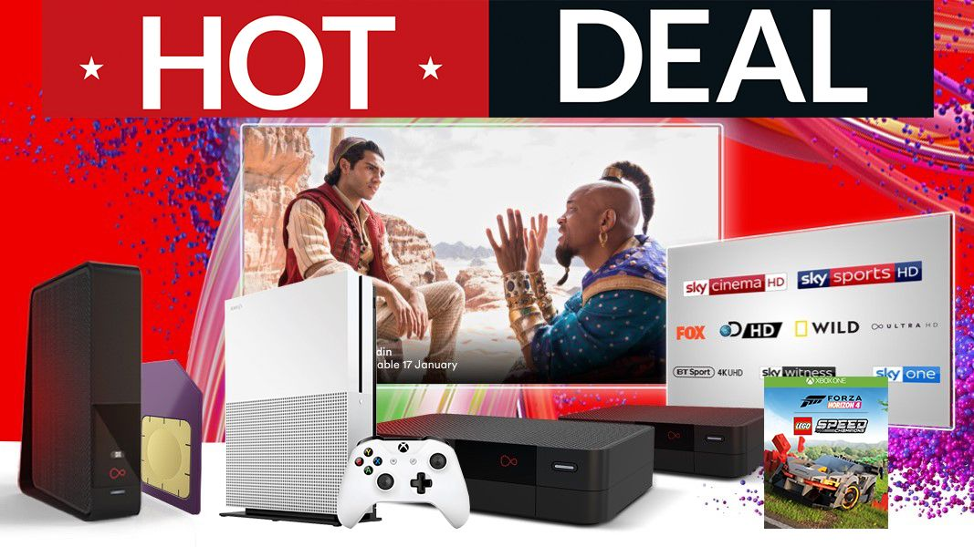Get an Xbox One S with Forza Horizon 4 FREE with this superb Virgin Media deal