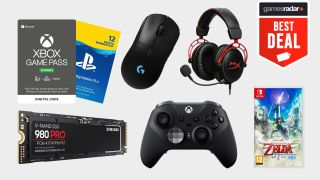 gaming deals xbox game pass ultimate nintendo switch PS5 SSD