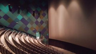 Severtson Provides Cinema Screen for Audubon's Newly Renovated 3D Digital Theater
