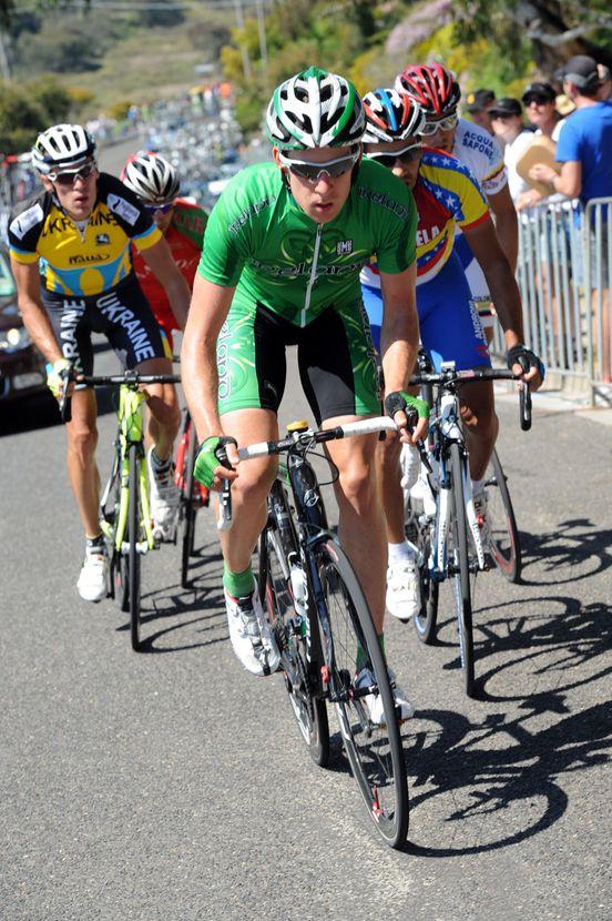 Matt Brammeier escape, World Champiolnships 2010, men's road race