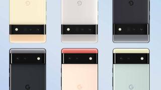 Google Pixel 6 colors
