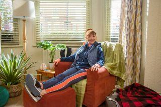 Melanie Walters as gran in Biff & Chip.