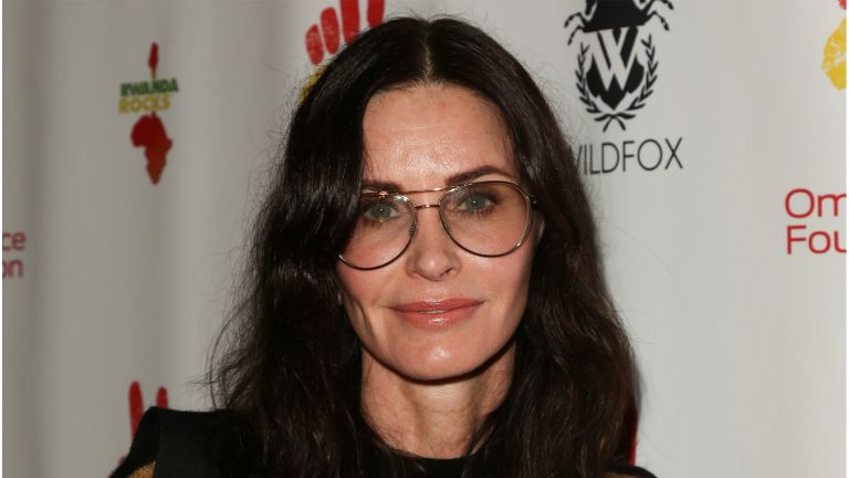 "WEST HOLLYWOOD, CALIFORNIA - NOVEMBER 04: Courteney Cox attends the 2nd Annual Gala ""Rwanda Rocks"" Charity Event at Vibrato Jazz Grill on November 04, 2019 in West Hollywood, California. (Photo by Paul Archuleta/FilmMagic)"
