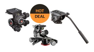 Get a head start on Cyber Monday! Great discounts on Manfrotto tripod heads