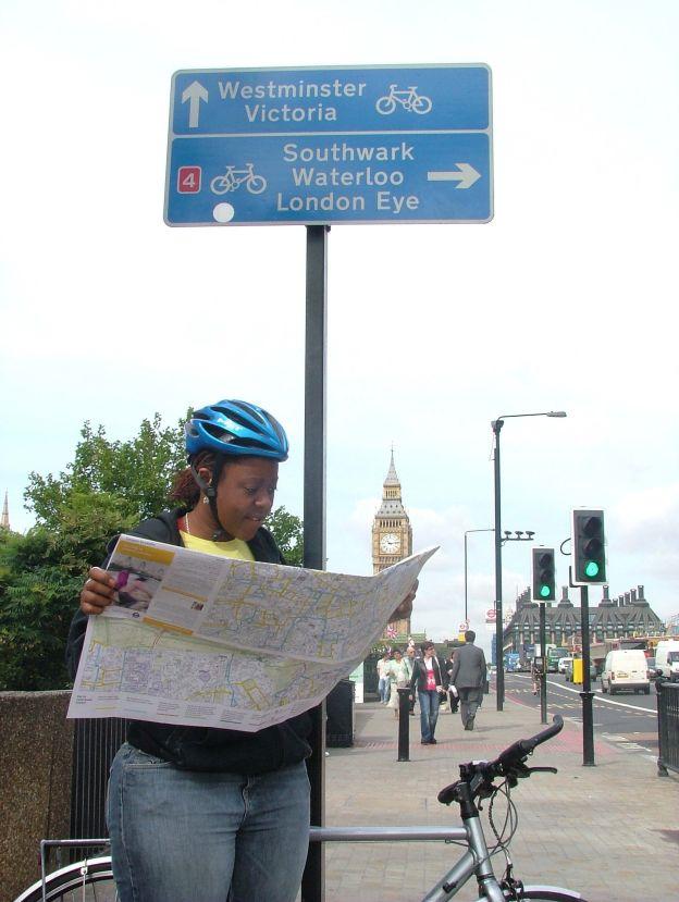 TFL free bike maps