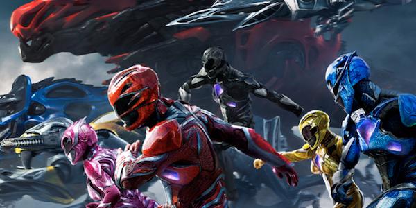 Power Rangers promo poster