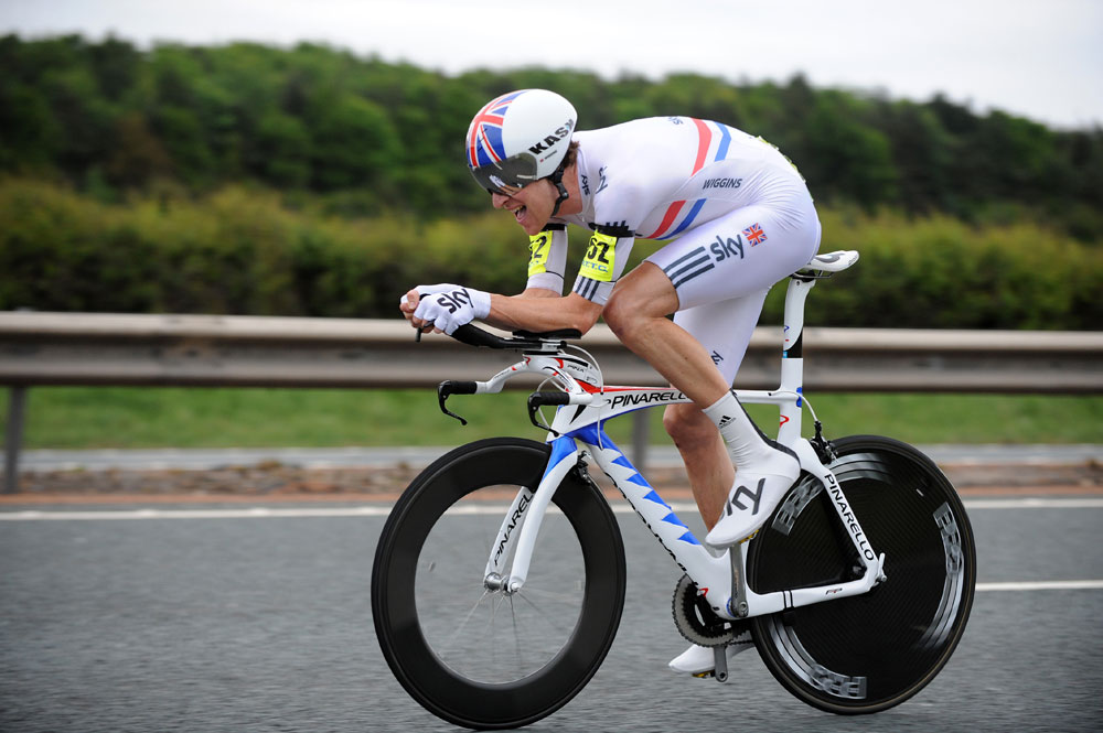 Bradley Wiggins, winner, National 10-mile time trial 2011