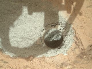 Preparatory Drill Test Performed on Mars