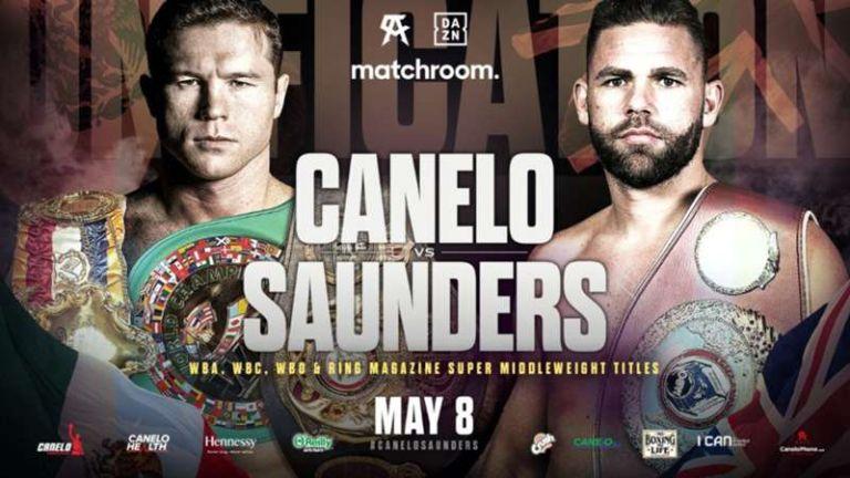 live stream Canelo Alvarez vs Billy Joe Saunders fight