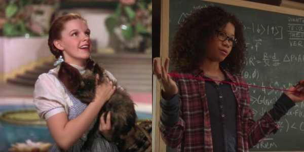 Storm Reid A Wrinkle In time Meg murry the wizard of oz dorothy judy garland