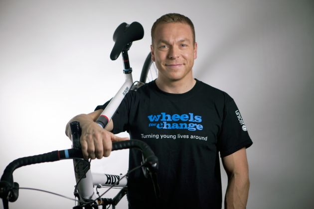 Sir Chris Hoy, Wheels for Change challenge 2014