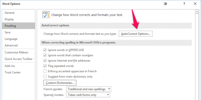 How to Configure Microsoft Word's Spell Check and