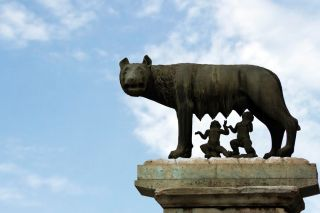 romulus, remus, feral children, Rome