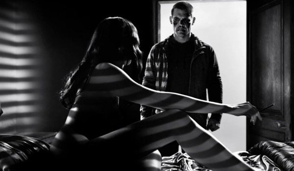 Sin City: A Dame To Kill For Josh Brolin in a naked woman's doorway