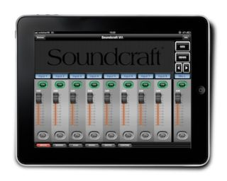 Harman's Soundcraft Updates Soundcraft ViSi Remote iPad App