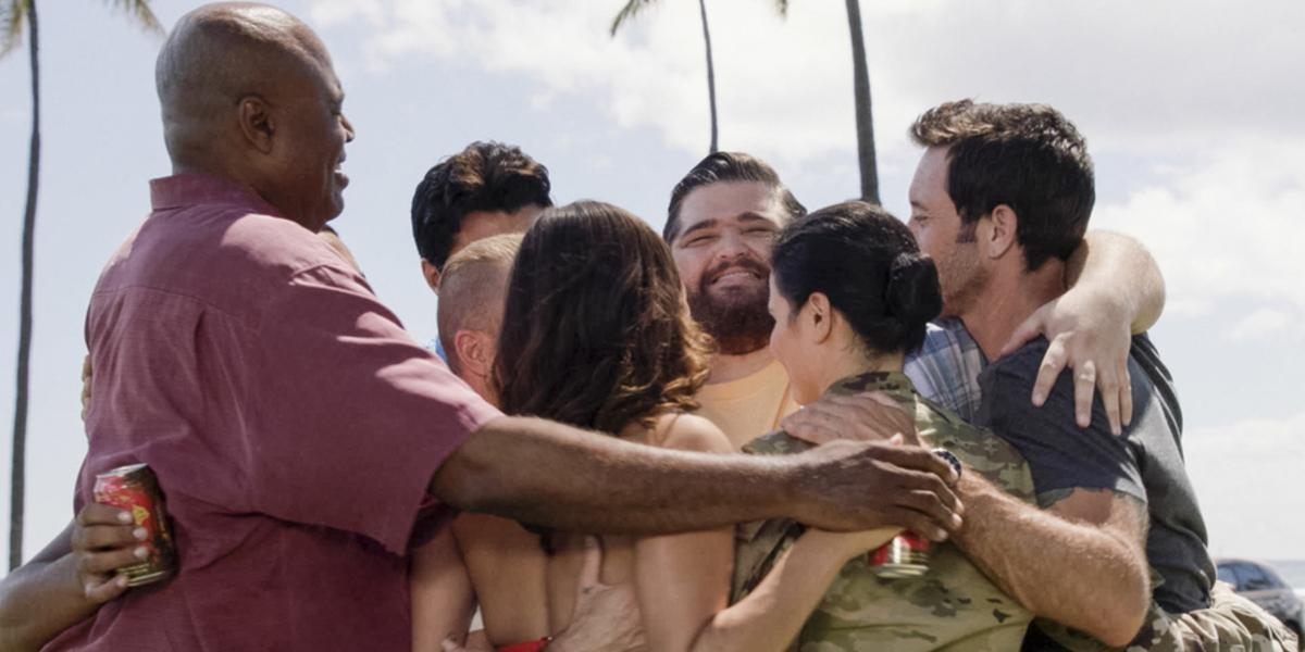 hawaii five 0 season 10 premiere group hug jerry ortega