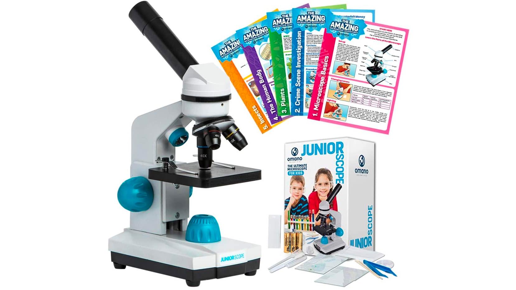 Omano JuniorScope microscope for kids.