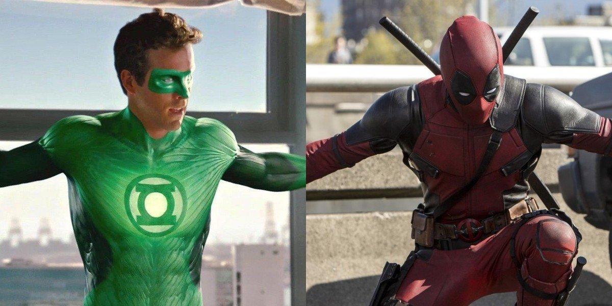 Ryan Reynolds green lantern deadpool