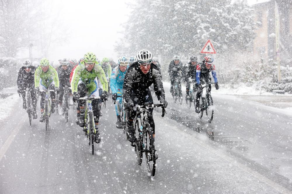 2013 Milan San Remo Snow