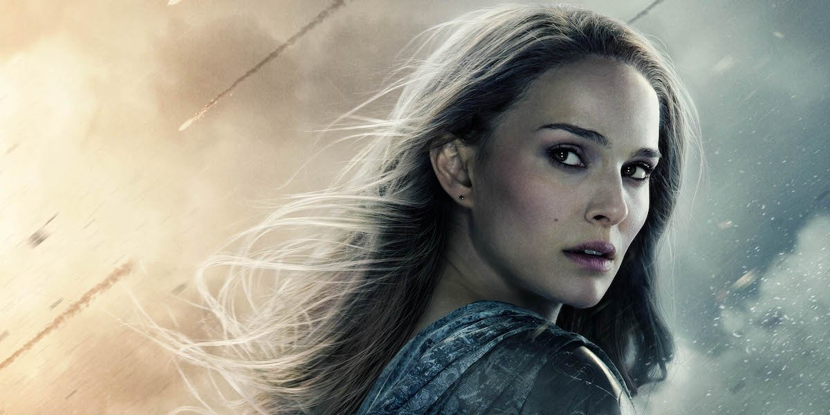Natalie Portman as Jane Foster in Thor: The Dark World