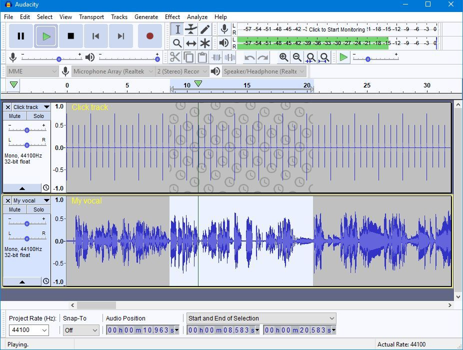 Audacity Voice Recording Software - Pros and Cons | Top Ten Reviews