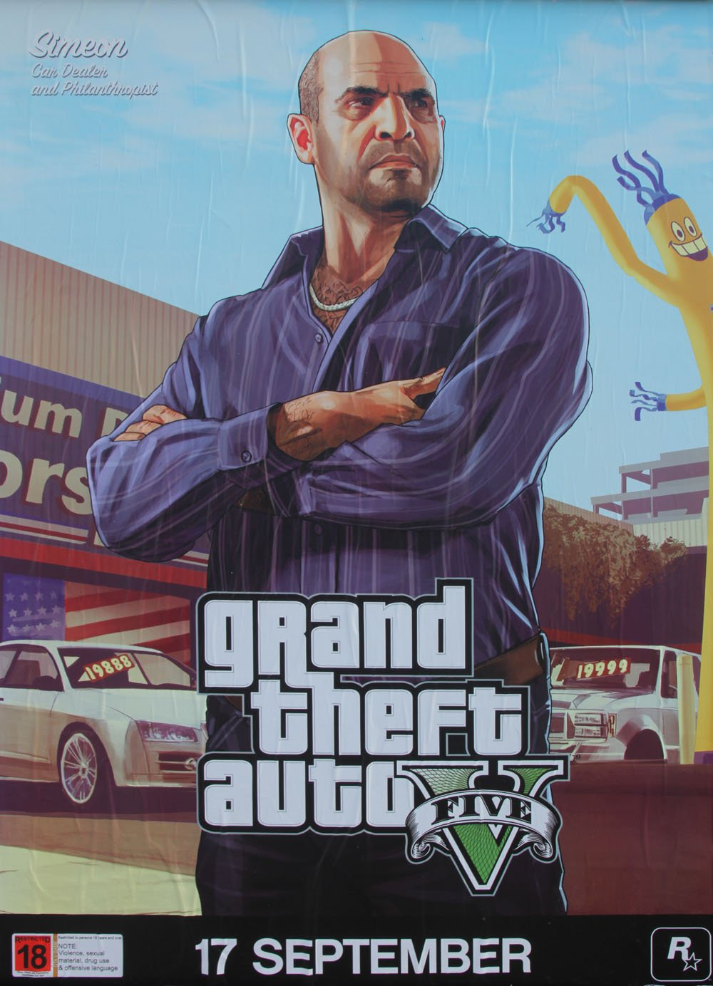 GTA 5 Posters Introduce New Characters #28782