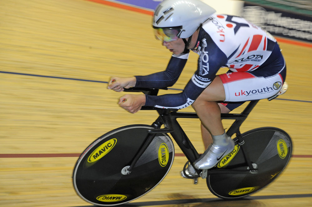 Steven Burke, individual pursuit, Track National Championships 2011