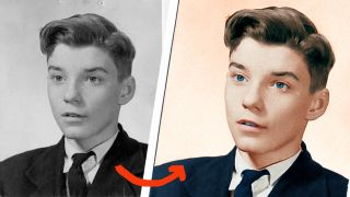 Colorize old photos using Photoshop CC