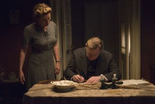 Emma Thompson and Brendan Gleeson are a grieving couple