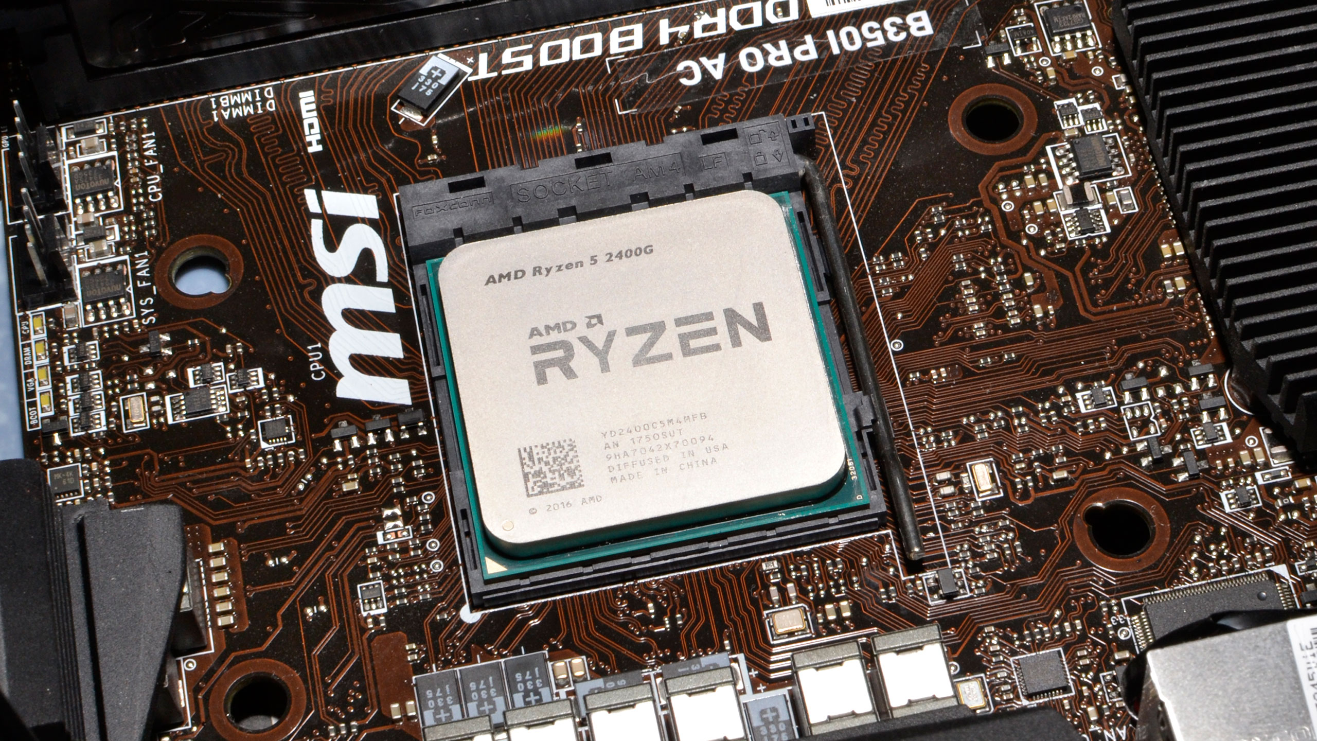 AMD's Ryzen 5 2400G is a good option for a budget gaming PC