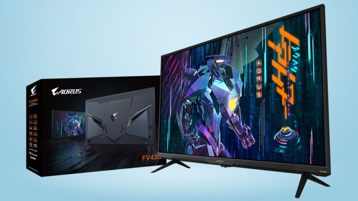 Gigabyte Aorus FV43U Review: King of the 43-Inch Class