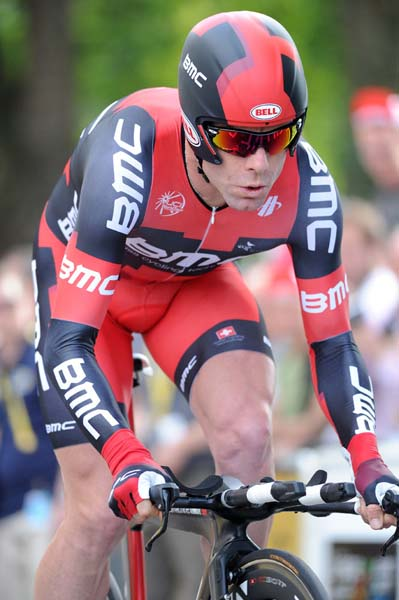 Cadel Evans, Tour de France 2012, prologue