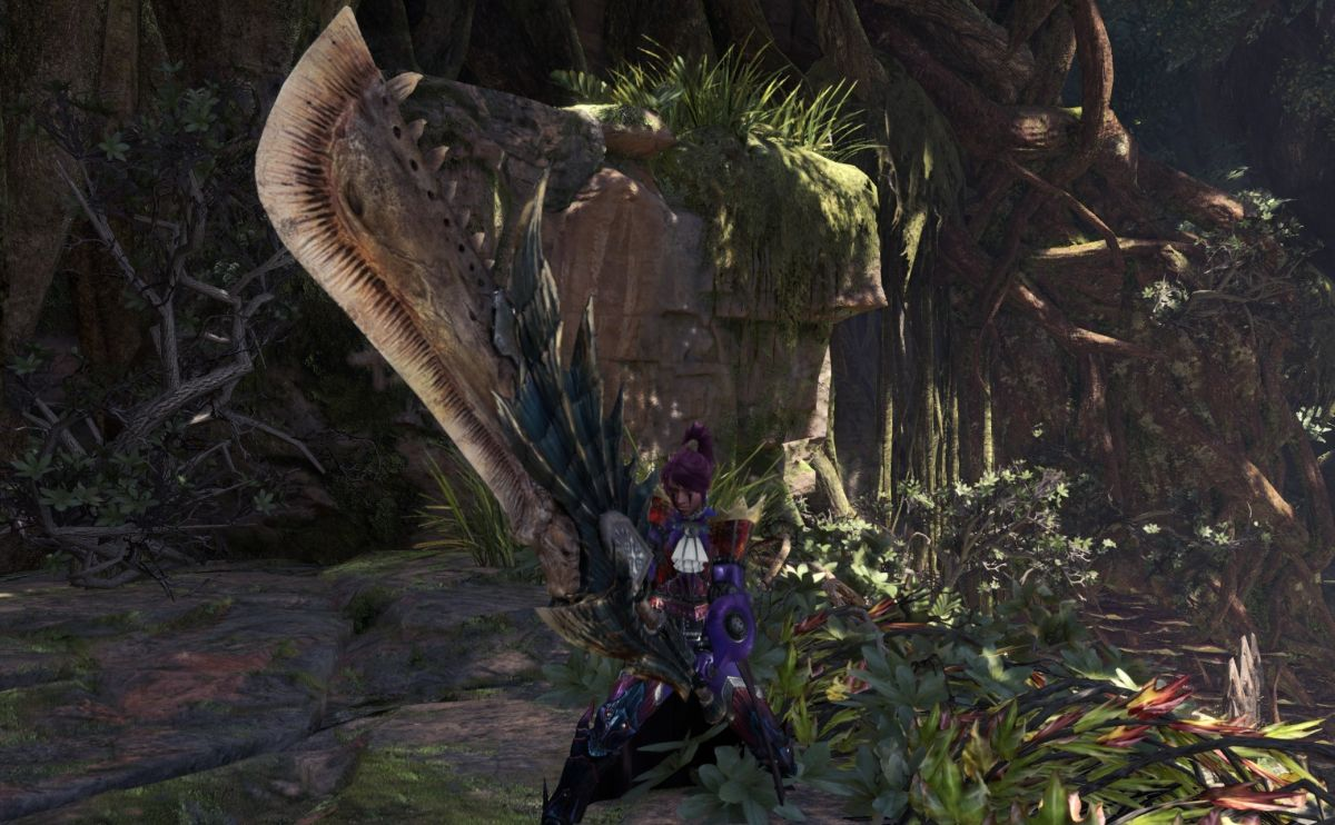 Monster Hunter's greatsword has the best videogame animation since Chris Redfield punched a boulder